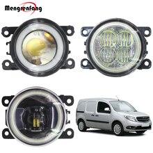 2 X стайлинга автомобилей H11 туман светильник светодиодный Halo Кольцо Ангел глаз DRL Дневной светильник 12V для Mercedes-Бен Citan 415 2012-2018