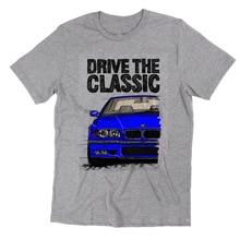 New Drive The Classic Germany Legend Car E36 Blue Logo T Shirt Greyt Shirts Fashion 2019 Ner T-Shirt Tee