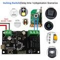 Tuya Smart life APP WiFi беспроводной релейный модуль односторонний инширующий переключатель с дистанционным управлением, контр доступа для работы с...