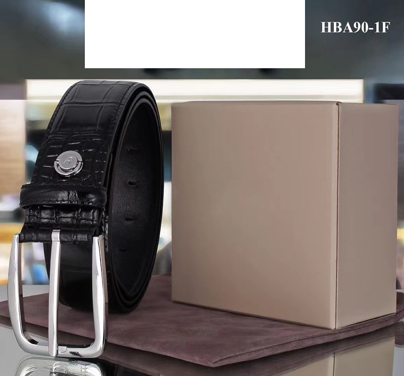 Billionaire Belt Cowskin Men 2020 New Fashion Casual Comfortable Print B Business High Quality Big 105-130CM Free Shipping