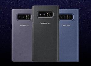 Image 2 - סמסונג המקורי Led חכם טלפון מקרה צפה בכיסוי לסמסונג גלקסי הערה 8 Note8 N9500 N9508 SM N950F מגן חזרה טלפון מקרה