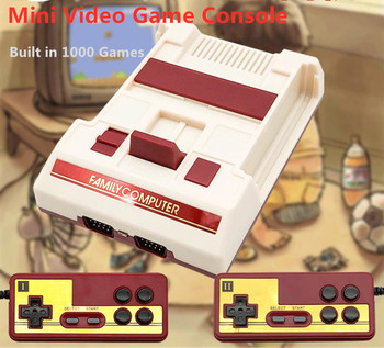 Coolbaby  RS33 Retro mini Video Game Console  with Double Gamepads  N/P Output Built in 1000 Games For FC NES Home Game Console coolbaby hdmi out retro classic handheld game player family tv video game console childhood built in 600 games for nes mini p n
