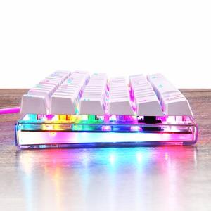 Image 2 - MOTOSPEED Teclado mecánico K87S para videojuegos teclado de juegos por cable, personalizado, LED RGB retroiluminado con 87 teclas para lol cf