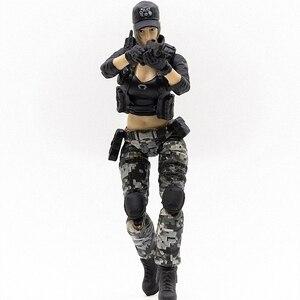 Image 4 - JOYTOY 1/18 action figure frauen soldat in spiel Cross Fire (CF) anime weibliche zahlen Kostenloser versand