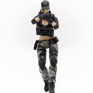Image 4 - JOYTOY 1/18 action figure women soldier in game Cross Fire(CF) anime female figures Free shipping