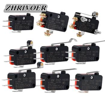 V-151-1C25/V-152-1C25/V-153-1C25/V-154-1C25/V-155-1C25/V-156-1C25/V-15-1C25/V-15-1B5 Interruptor de Límite Micro momentáneo