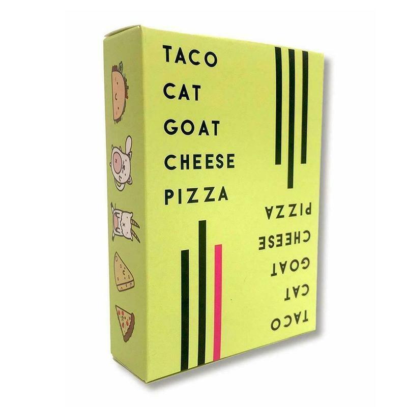 Taco Cat Goat Cheese Pizza English Card Party Board Game Family Parent-child Interaction Kids Toys
