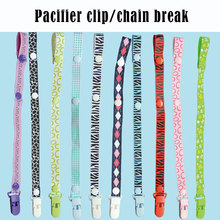 Baby Pacifier Clip Holder for Nipples Chain Dummy Nipple Children Teether Anti-drop Rope Feeding