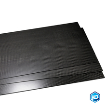 95x395mm  plain glossy matte Carbon Fiber Plate Panel Sheet 0.25-5mm Thick High Strength Carbon Board Lightweight High Quality mix thickness 1 5mm 2 0mm full carbon fiber sheets twill matte unidirectional cf carbon plates epoxy resin