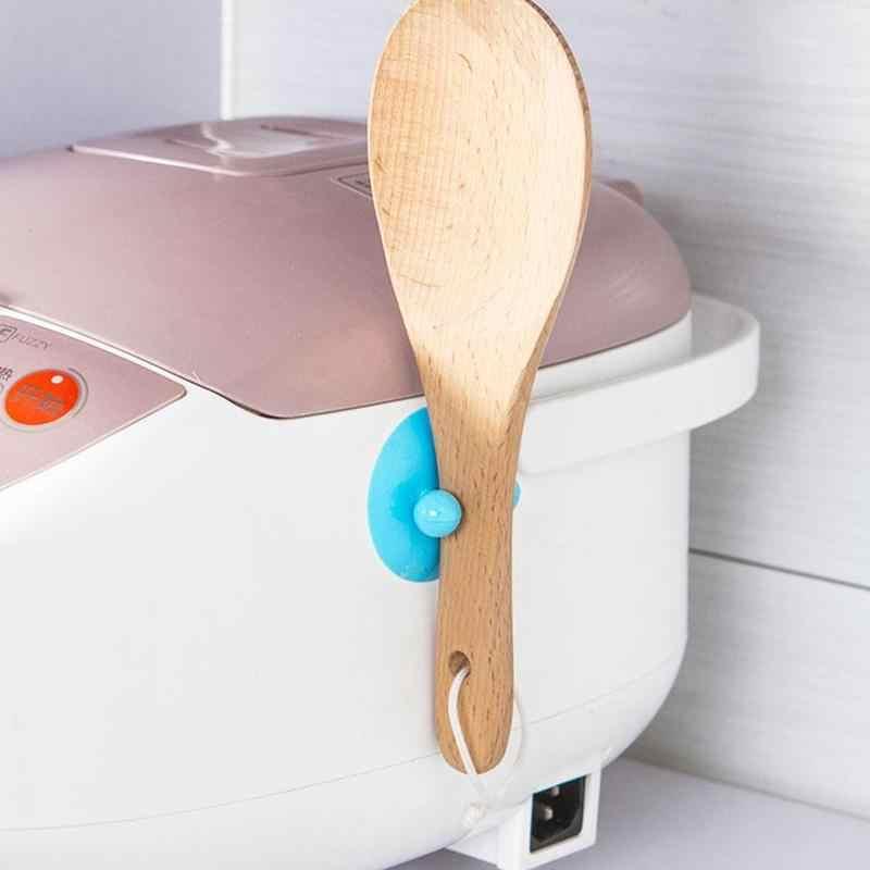 2 adet pirinç ocak kaşık enayi kanca banyo vakum dikişsiz vantuz askısı mutfak güçlü duvar kanca çeşitli eşyalar depolama dekor
