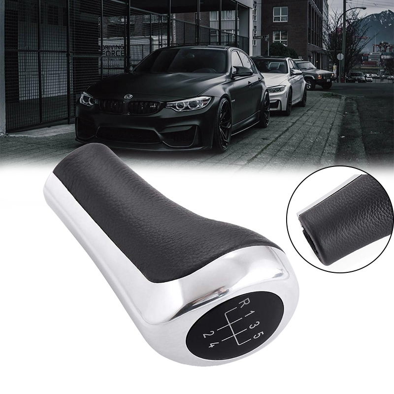 Черный глянец серебристый ручной 5 скоростей MT рычаг переключения передач ручка переключения для BMW E30 E32 E36 E46 E39 E34 Z3