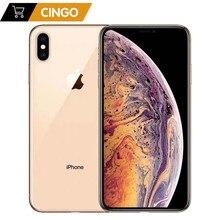 Оригинальный разблокированный Apple iPhone XS, iphone xs, 5,8 дюйма, сетчатый OLED дисплей, 4G LTE, 2658 мАч, A12, бионический чип, 4 Гб ОЗУ, 64 ГБ/256 ГБ/512 Гб ПЗУ