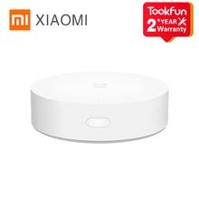 Original Xiaomi Mijia Intelligent Multimode Gateway Support Zigbee Wi-Fi Bluetooth Connectable