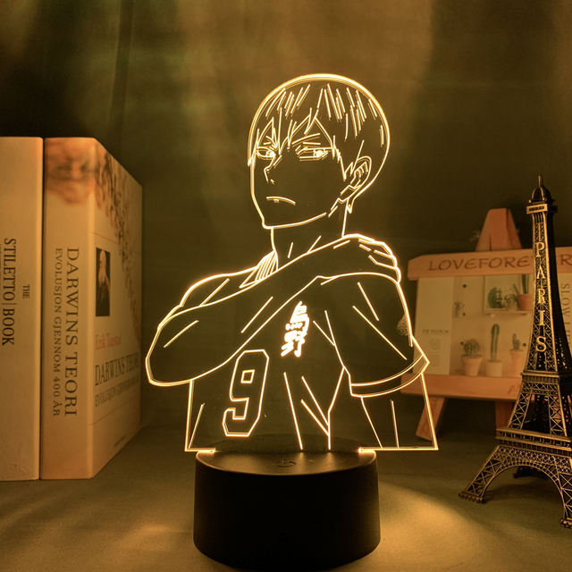 16 COLOR WITH REMOTE HAIKYUU THEMED 3D LED LAMP