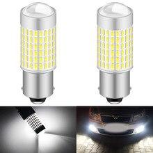 2 pçs branco canbus nenhum erro 1156 ba15s p21w lâmpada led para skoda superb octavia 2 fl 2010 2011 2012 2013 luzes diurnas drl