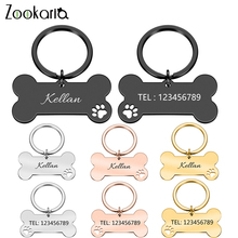 Pet-Id-Tag Pendant-Collar Pet-Accessories Engraved Puppy Anti-Lost Personalized for Cat