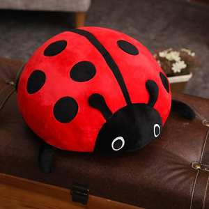 Cushion Plush-Toy Ladybug Soft-Pillow Doll Cute Insect Birthday-Gift Novelty Creative