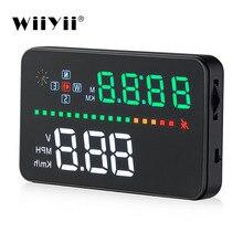 WiiYii A3 HUD OBD2 head up display auto 3,5 zoll Auto GPS tacho Windschutzscheibe Projektor Geschwindigkeit Warnung