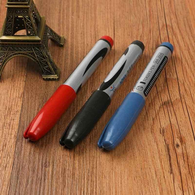 1 Pc Vette Grote Pen Zwarte Viltstift Hoofd Pen Kan Toevoegen Inkt Express Pen Olie Oppervlak Multi-Functie pen Rotuladores De Colores