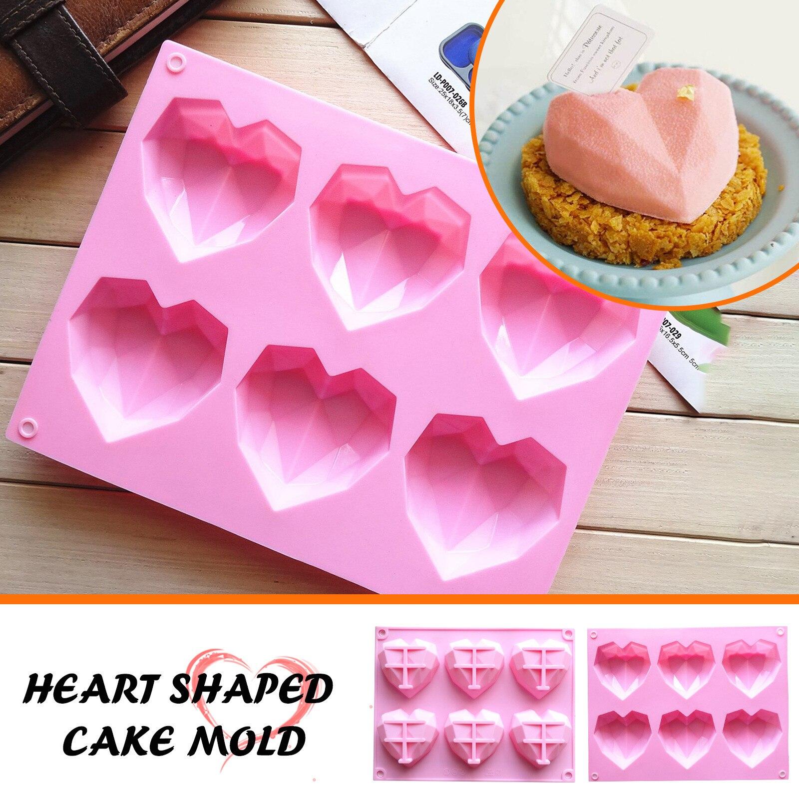 Силиконовая форма для детского дня рождения, инструмент для украшения торта в форме сердца, сфера, силиконовая форма для торта, маффинов, шо...