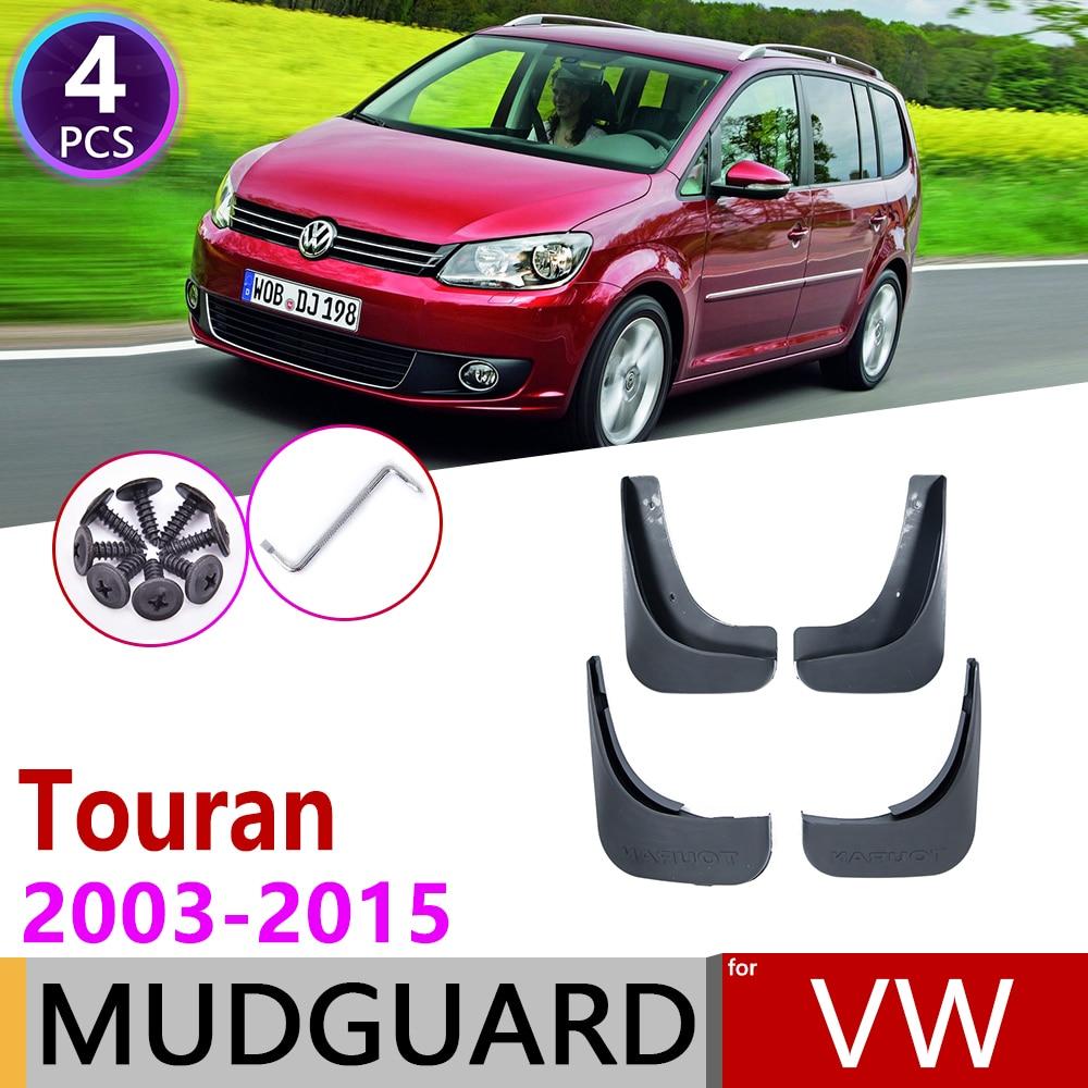 For Volkswagen VW Touran 2003~2015 MK1 Fender Mudguard Mud Flaps Guard Splash Flap Mudguards Accessories 2005 2008 2010 2013