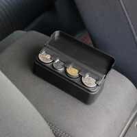 Accessori Per Interni auto Organizer Custodia In Plastica Del Supporto Del Contenitore Storage Box Pocket Telescopico Cruscotto Monete Compatibile