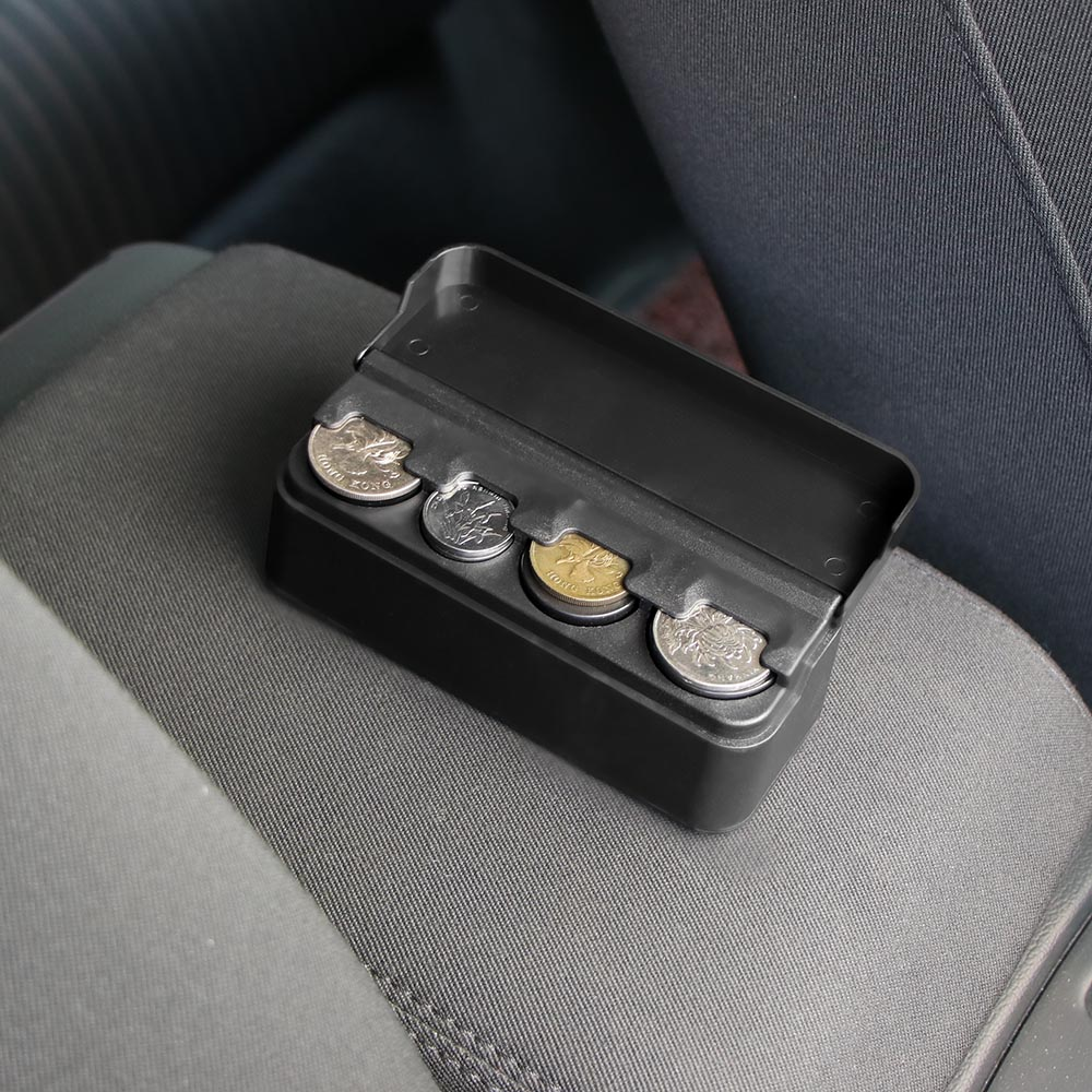 Car Interior Accessories Organizer Case Plastic Holder Container Coins Storage Box Pocket Telescopic Dashboard Coins Compatible