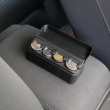 Car Interior Accessories Organizer Case Plastic Holder Container Coins Storage B