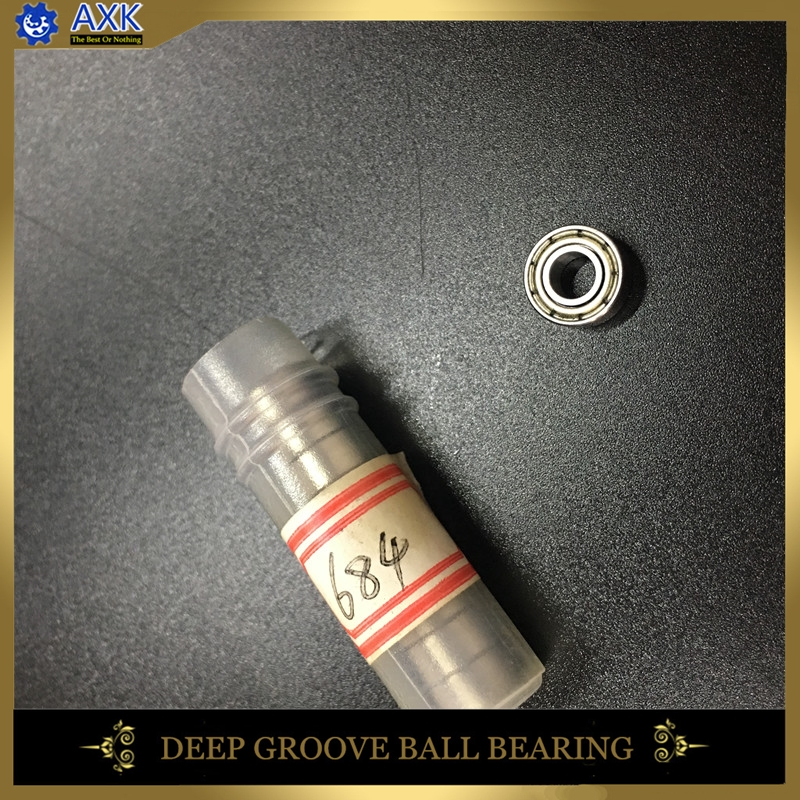 684ZZ Bearing 4x9x4 mm ABEC-5 ( 10 PCS ) Miniature 684Z Ball Bearings 684 ZZ 618/4ZZ Hobby Emax Moto