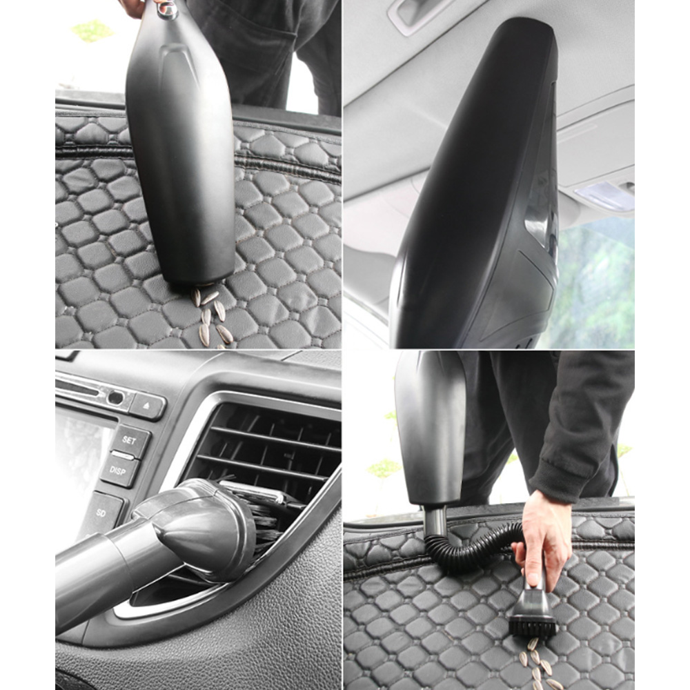 120W Auto Car Vacuum Cleaner Wireless Car Dry Wet Vacuum Cleaner Household Hand Held Vehicle Mounted Vacuum Car Accessories in Vacuum Cleaner from Automobiles Motorcycles