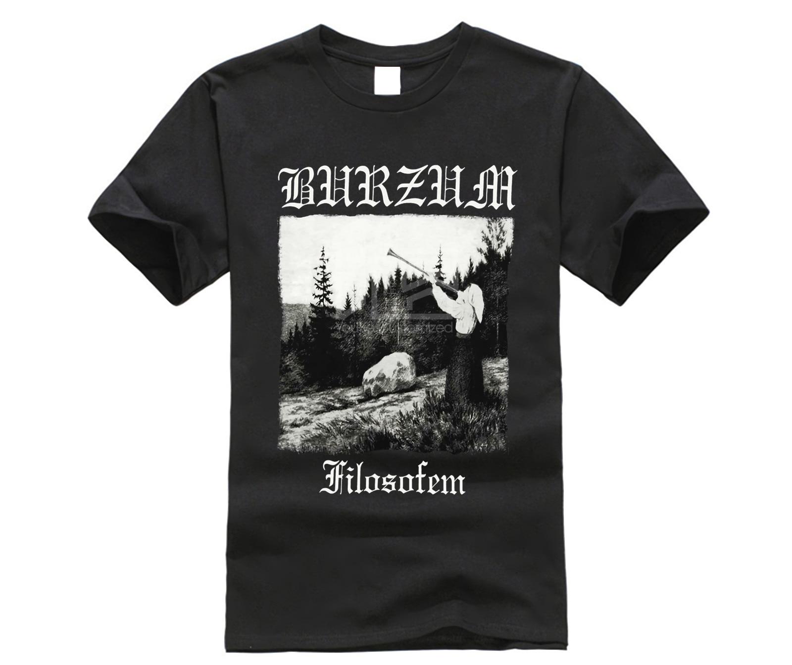 Burzum Men's Filosofem T-Shirt Black