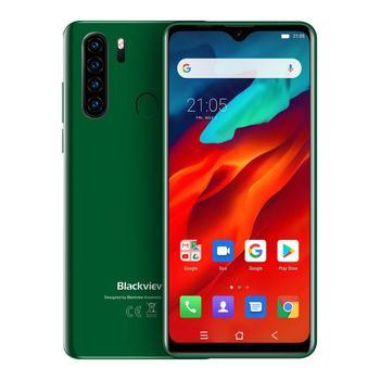 Перейти на Алиэкспресс и купить Мобильный телефон Blackview 4G A80 Pro, четырехъядерный, 4 Гб + 64 ГБ, Android 9,0, 6,49 дюйма, 4680 мАч, глобальная версия