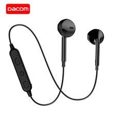 DACOM G03T Bluetooth kulaklık V5.0 kablosuz kulaklıklar dahili mikrofon Stereo spor Bluetooth kulaklık iPhone Samsung için