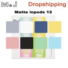 Original matte Mini 12 tws bluetooh earphone wireless in headphone 5.0 Touch Pop up wireless sports headset for Dropshipping