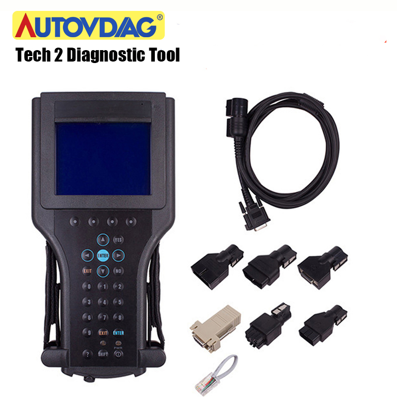 For GM Tech 2 Scanner Tech2 For GM/SAAB/OPEL/SUZUKI/ISUZU/Holden For Gm Tech2 Card Scanner Car Diagnostic Tool With CANDI Carton