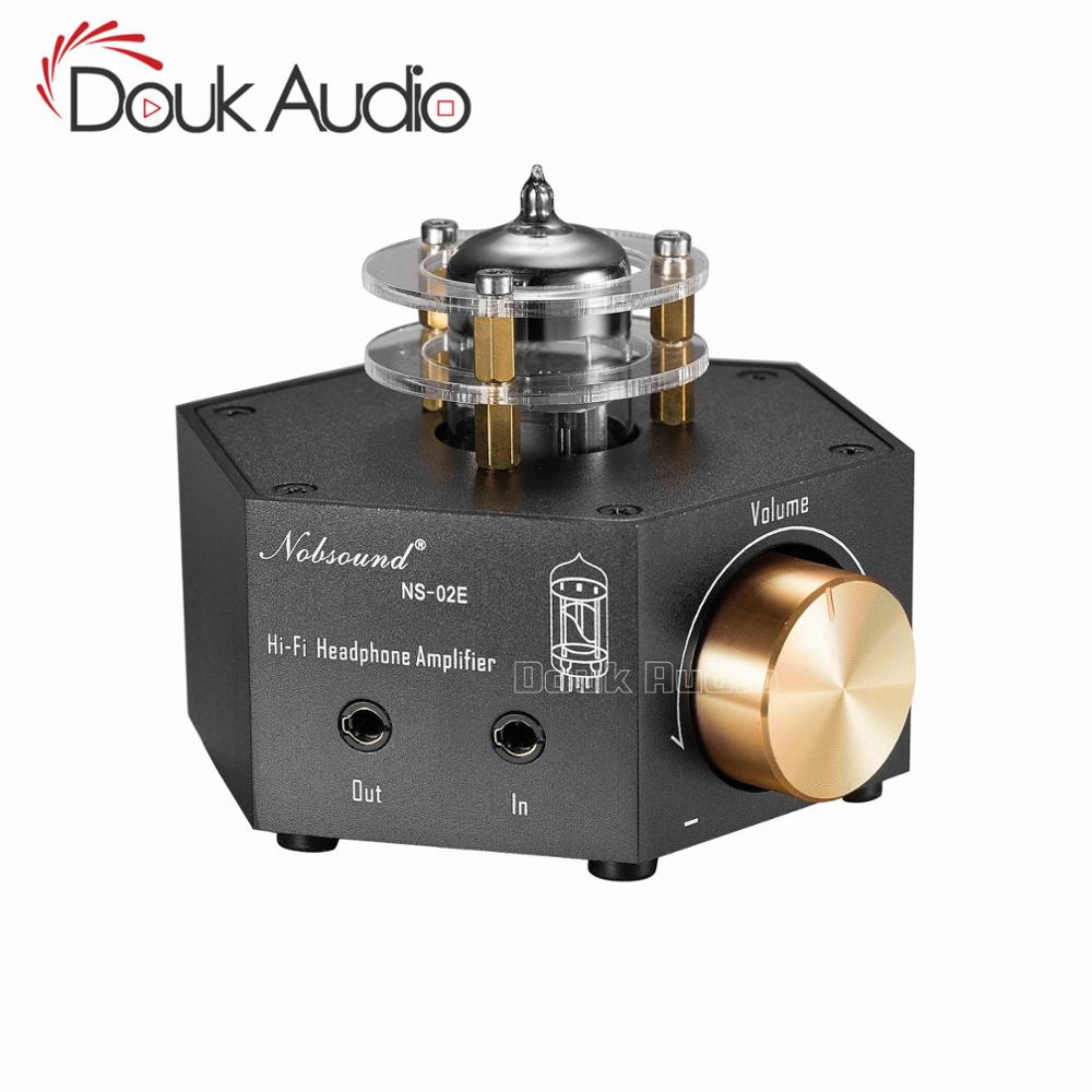 Douk Auido Mini Class A 6N3 Vacuum Tube Amplifier Stereo HiFi Headphone Amp Pre-Amplifier image