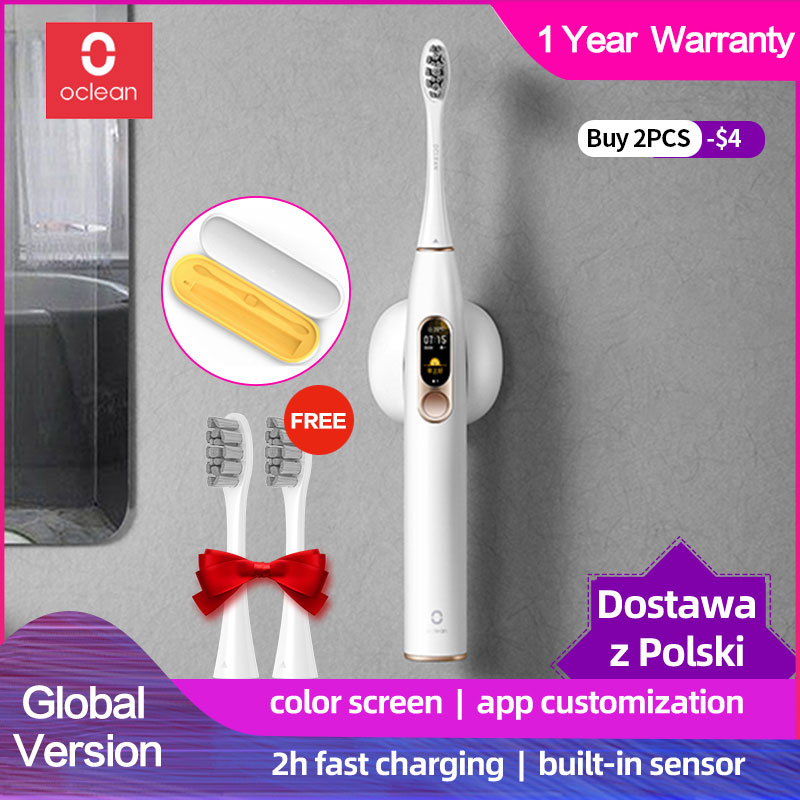 Xiaomi Oclean X sonic электрическая зубная щетка для взрослых, водонепроницаемая, ультра звуковая, автоматическая, быстрая зарядка, зубная щетка mijia