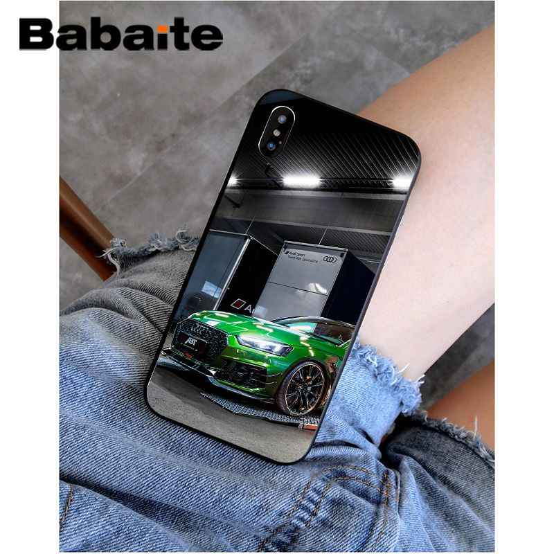 Babaite Audi RS กีฬารถ TPU ซิลิโคนโทรศัพท์สำหรับ iPhone 11 Pro XS สูงสุด 8 7 6 6S PLUS X 5 5S SE XR