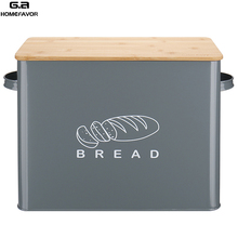 Bread Box With Bamboo Cutting Lid Kitchen Storage Bin Snack Lunch  Bento Box Food Container