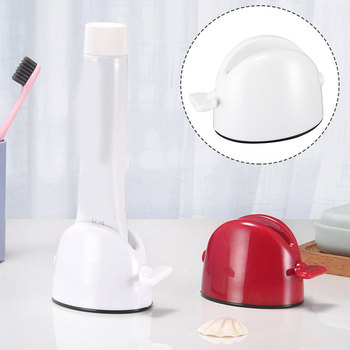 Kreatywny wyciskacz do pasty do zębów plastikowy uchwyt do pasty do zębów wielobarwne kreatywne przenośne wygodne produkty do wyciskania pasty do zębów tanie i dobre opinie CN (pochodzenie) Z tworzywa sztucznego