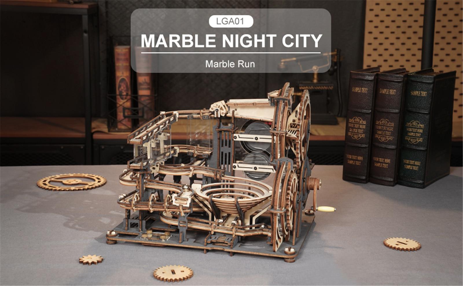 Robotime LGA01 Marble Night City