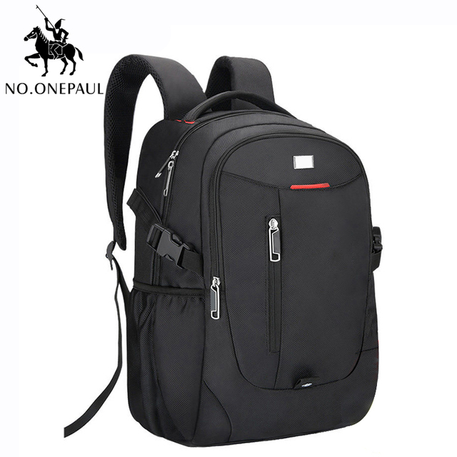 $ US $13.26 NO.ONEPAUL Luxury Famous Brand Bags for men School Daily life Backpack Leisure travel backpack men bags cute girl free shipping