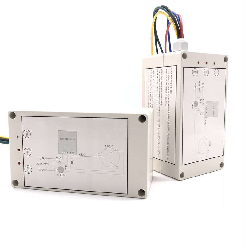 110V/220V Single Phase Air Conditioner Soft Starter To Reduce The Starting Current By 60% No Need Contactor And Start Capacitor
