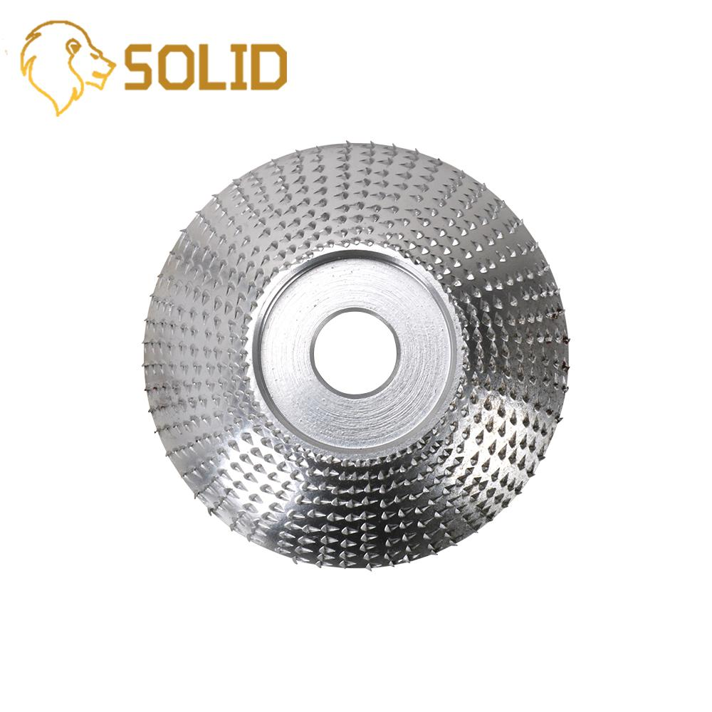 100mm Flat/Curved Type Wood Angle Grinding Wheel Sanding Carving Abrasive Disc Wood Grinding Wheel Rotary Disc For Angle Grinder