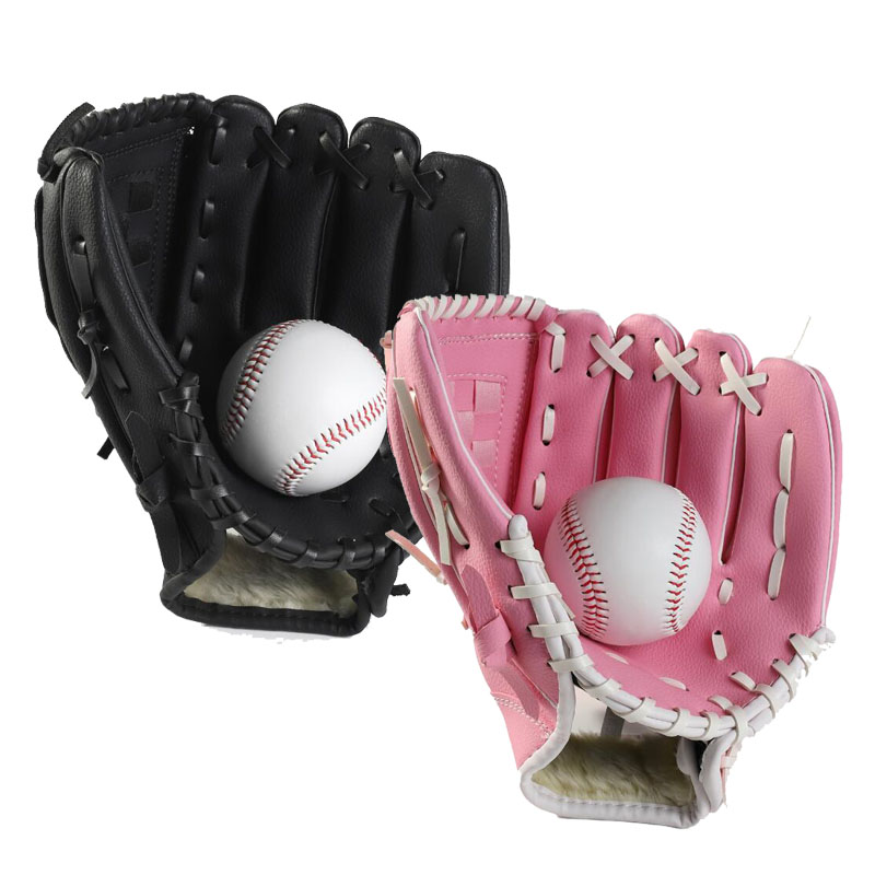 Child Kids Adults Professional Baseball Glove Softball Mitts Outdoor Sports