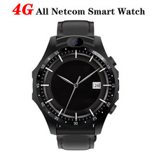 V9 4G montre intelligente MTK6739 Quad Core 3GB + 32GB 1.6 pouces fréquence cardiaque Smartwatch 800mAh double 2.0MP caméra GPS Bluetooth Android 7.1(China)