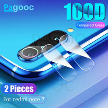 100D Back Camera Lens Tempered Glass on the For Xiaomi Redmi 7 6 6A 7A 5 S2 5 Plus Redmi Note 7 5 6 Pro Protective Glass Film(China)
