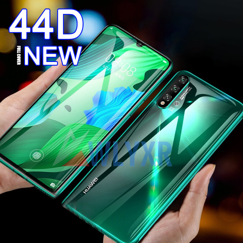 44D Front & Back Hydrogel Film For Huawei P30 Pro P20 Lite P Smart Z 2019 Screen Protector For Mate 20 Honor 20 9X Pro Not Glass image