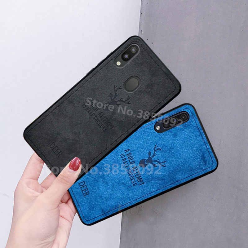Роскошный мягкий чехол из ТПУ с тканевый чехол для телефона для samsung Galaxy A30 A50 A6 A7 A8 2018 M20 Чехлы для задней панели для Galaxy A90 A80 A70 A40 A20 чехлы