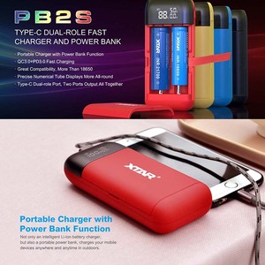 Image 2 - XTAR 18650 Battery Charger / PB2S Power Bank Charger / ST2 SC2 Fast Charger USB / MC2 MC2PLUS VC2 VC2S LCD Battery Charger 21700